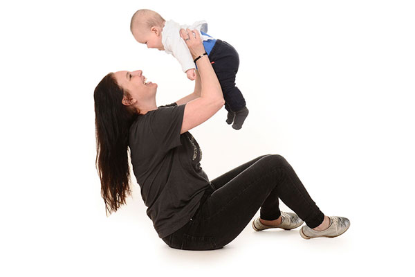 Nannies Groostal - Leidster met een baby