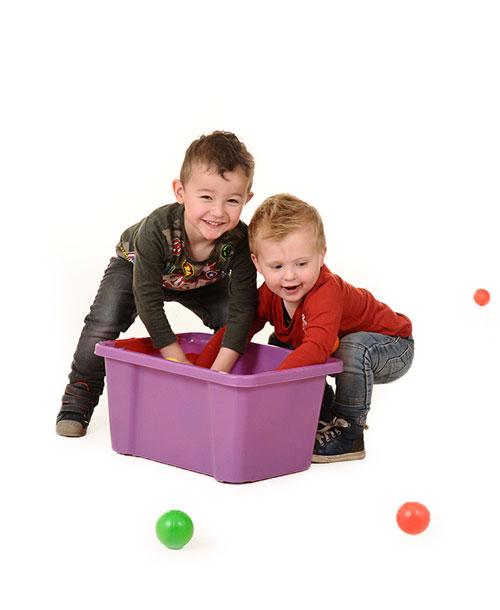 Kinderopvang van Nannies - kinderen aan het spelen.